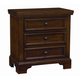 All-American Hanover Nightstand with Light in Cherry