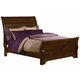 All-American Maple Grove King Sleigh Bed in Cherry