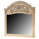 Saveaha Classic Bedroom Mirror in Light Beige B346-36 CLEARANCE