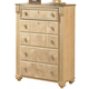 Saveaha Five Drawer Chest in Light Beige B346-46