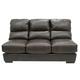 Jackson Lawson Armless Sofa in Godiva