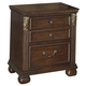 Leahlyn Two Drawer Nightstand in Warm Brown B526-92
