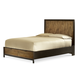 Legacy Classic Kateri Curved Panel King Bed with Storage Footboard in Hazelnut 3600-4126K