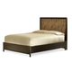 Legacy Classic Kateri Curved Panel Queen Bed with Storage Footboard in Hazelnut 3600-4125K