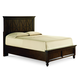 Legacy Classic Thatcher California King Panel Bed in Amber Finish 3700-4107K