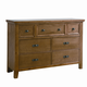 All-American Woodlands Dresser in Oak