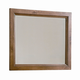 All-American Woodlands Chesser Mirror in Oak