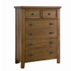 All-American Timber Mill Chest in Oak