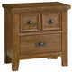 All-American Timber Mill Nightstand in Oak