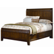 All-American Timber Mill King Wood Timber Panel Bed in Pine