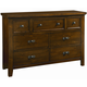 All-American Timber Mill Dresser in Pine