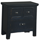 All-American Timber Mill Nightstand in Charcoal
