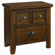 All-American Timber Mill Nightstand in Pine