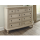 Demarlos Classic Dresser in Parchment White B693-31 CLEARANCE
