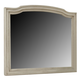 Demarlos Classic Bedroom Mirror in Parchment White B693-36 CLEARANCE