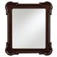 Stanley Furniture European Farmhouse Captain's Fluted Edge Mirror in Terrain 018-11-36