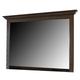 Hindell Park Vintage Bedroom Mirror in Dark Brown B695-36