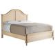 Stanley Furniture European Cottage Portfolio Queen Panel Bed in Vintage White 007-23-40