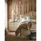 Stanley Furniture European Cottage Portfolio Panel Bedroom Set in Vintage White