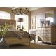 Stanley Furniture European Cottage Portfolio Upholstered Bedroom Set in Vintage White