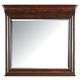 Stanley Furniture Louis Philippe Portfolio Landscape Mirror in Orleans 058-13-30
