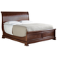 Stanley Furniture Louis Philippe Portfolio Queen Sleigh Bed in Orleans 058-13-52