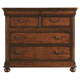 Stanley Furniture Louis Philippe Portfolio Media Chest in Burnished Honey 058-63-11