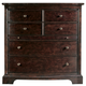 Stanley Furniture Transitional Portfolio Media Chest in Polished Sable 042-13-11