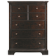 Stanley Furniture Transitional Portfolio Drawer Chest in Polished Sable 042-13-13
