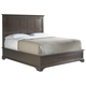 Stanley Furniture Transitional Portfolio Queen Panel Bed in Polished Sable 042-13-40