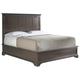Stanley Furniture Transitional Portfolio King Panel Bed in Polished Sable 042-13-45