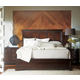 Stanley Furniture Transitional Portfolio Panel Bedroom Set in Polished Sable