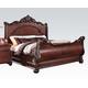 Acme Abramson King Grand Estate Sleigh Bed 22354EK