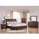 Acme Aceline Sleigh Bed with Storage Footboard Bedroom Set