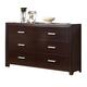 ACME Ajay Six Drawer Dresser in Espresso 21435