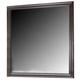 ACME Ajay Accent Mirror in Espresso 21434