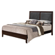 Acme Ajay California King Panel Bed with Upholstered Headboard 21414CK