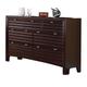 ACME Cayden Dresser in Merlot 20565