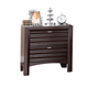ACME Cayden Nightstand in Merlot 20563