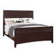 Acme Cayden King Panel Bed in Merlot 20557EK