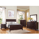 Acme Cayden Panel Bedroom Set in Merlot