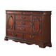 Acme Estrella Traditional Dresser in Dark Cherry 20735