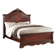 Acme Estrella California King Panel Bed in Dark Cherry 20724CK