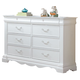 ACME Estrella Youth Dresser in White 30245