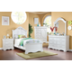Acme Estrella Youth Panel Bedroom Set in White