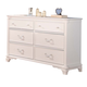ACME Ira Youth French Style Dresser in White 30150