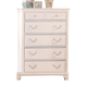 ACME Ira Youth French Style Drawer Chest in White 30151