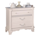 ACME Ira Youth French Style Nightstand in White 30148