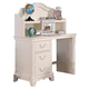 ACME Ira Youth Kneespace Desk with Hutch in White 30152_KIT
