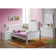 Acme Nebo Twin Youth Sleigh Bedroom Set in White